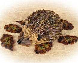 Beaded Hedgehog Kit