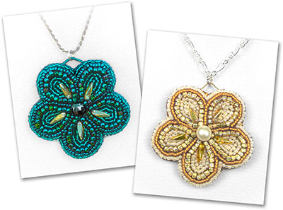 Bead Embroidered Pendants Workshop with Alison Nash
