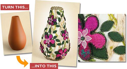 Altered Vases Workshop with Alison Nash